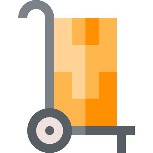 Shipping and delivery icon